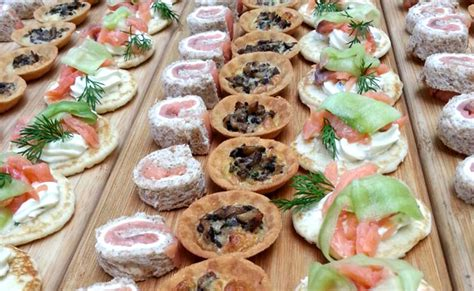 petits canapes independent wedding caterer wedding buffet and catering