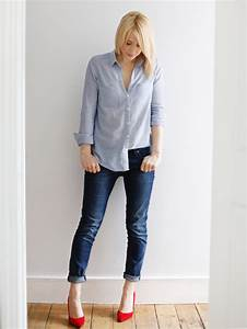 Outfit of the day | Shirt and jeans - coco mama style