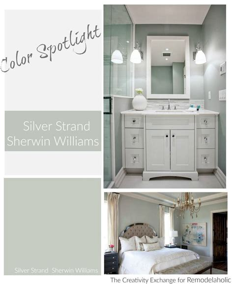 color spotlight silver strand by sherwin williams
