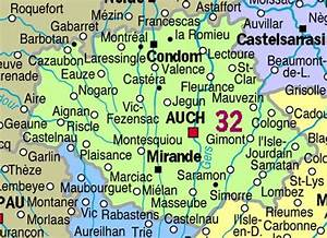 Carte Du Gers Détaillée : d partement du gers et carte du gers ~ Maxctalentgroup.com Avis de Voitures