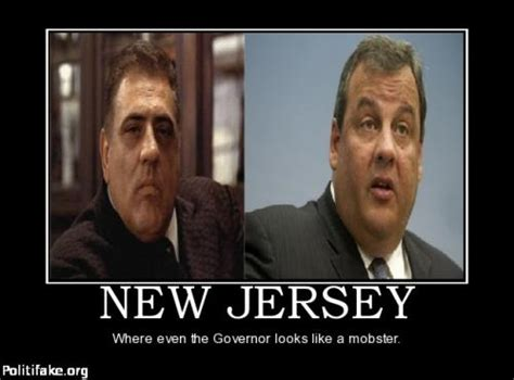 New Jersey Memes - new jersey where even the governor looks like a mobster
