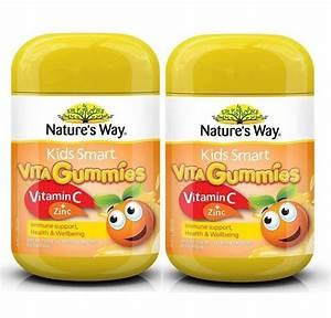 nature 39 s way smart gummies vitamin c zinc pack