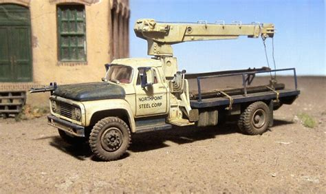 Ford F 850 by Ford F 850 Steel Delivery Boom Truck