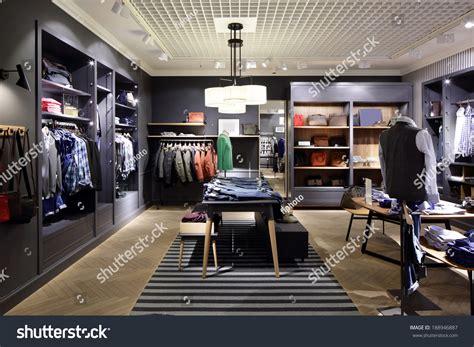 Luxury Fashionable Brand New Interior Cloth Stock Photo