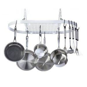 Ceiling Mount Pot Rack by Ceiling Mount Pot Rack Hanging Kitchen Pan Cookware