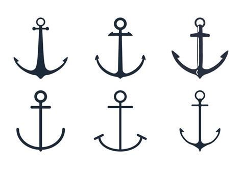 Tugboat Vector Question by Anchor Icon Set Free Vector Stock Graphics