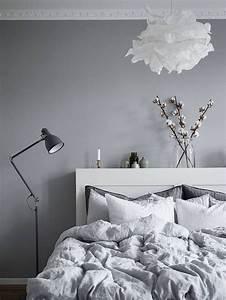 Lampen Schlafzimmer Ideen : die besten 17 ideen zu graue schlafzimmer w nde auf ~ Michelbontemps.com Haus und Dekorationen