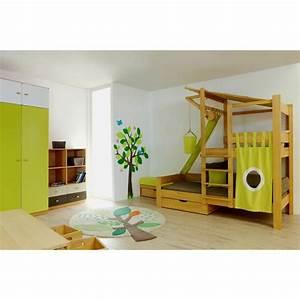Cabane Lit Enfant : lit enfant avec cabane perch e en l 39 air de breuyn ma chambramoi ~ Melissatoandfro.com Idées de Décoration