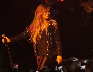 DEMI LOVATO Performs at Neon Lights Tour in Sao Paulo ...