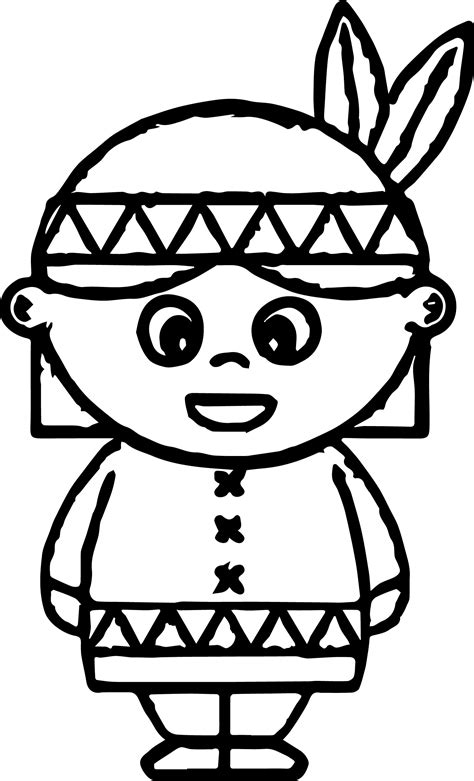 indian coloring pages coloringsuitecom
