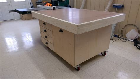 Torsion Box Assembly Table  By Highpointww @ Lumberjocks