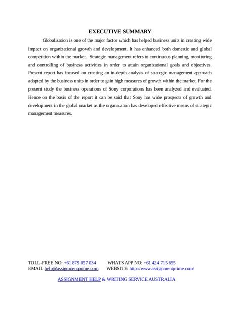 Assignment On Strategic Management Sample Essay About Happiness