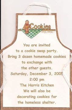 cookie exchange rules free printable invitations template printables