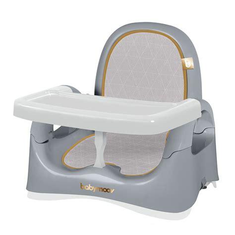 rehausseur de chaise babymoov réhausseur de chaise compact smokey de babymoov sur allobébé
