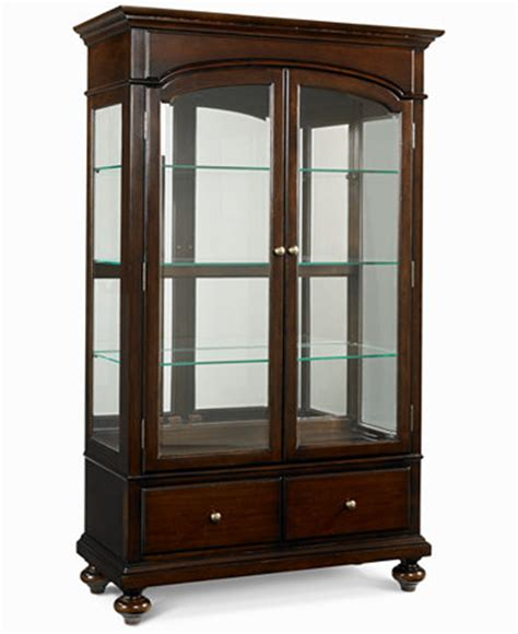 Macys Bradford China Cabinet bradford china curio cabinet furniture macy s