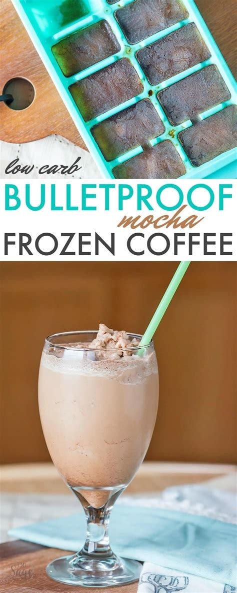 Meaning less acidic, more flavor, and nuttier, chocolatier notes. Low Carb Bulletproof Frozen Mocha Coffee Recipe
