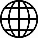 Global Earth Icon Globe Internet Vector Icons