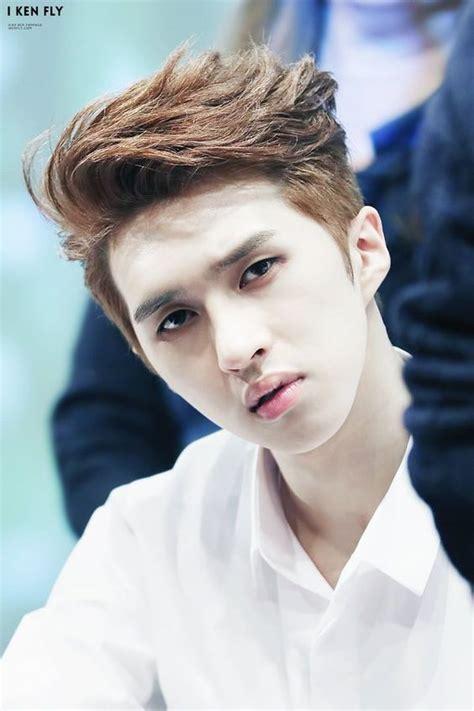 korea hair style vixx ken s two block haircut kpop korean hair and style 7986