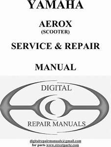 Yamaha Aerox Service Repair Manual