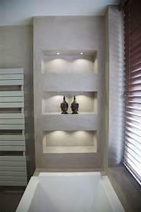 Regal Für Dusche : betonoptik und gemauertes regal haus in 2019 badezimmer traumhafte badezimmer und bad ~ Eleganceandgraceweddings.com Haus und Dekorationen