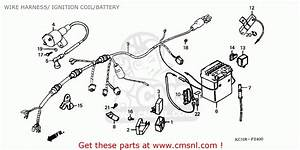 Honda Cg125 1995  S  England Wire Harness   Ignition Coil  Battery