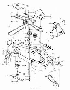 Husqvarna Deck Belt Diagram