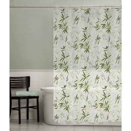 peva shower curtain maytex zen garden peva vinyl shower curtain green