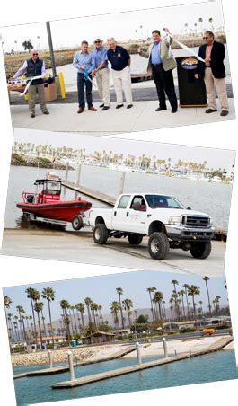 Boat Launch Ventura Harbor by Launch R Ribbon Cutting Collage
