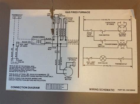 weatherking acclaim ii gas furnace wire diagram