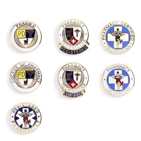 Registered Pharmacist by Registered Pharmacist Brass Name Badge