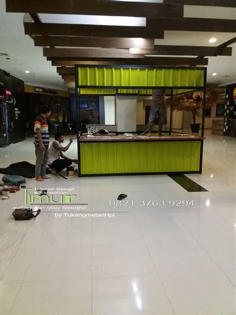 tukangmebelhpl interior design booth pameran kitchen