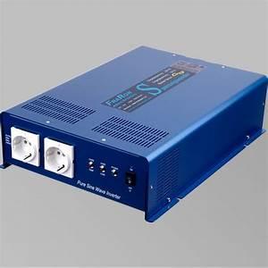 Wechselrichter 1000 Watt : wechselrichter reiner sinus 2200 watt 12v mit fi schalter ~ Jslefanu.com Haus und Dekorationen