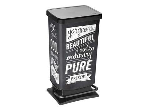 poubelle cuisine pas cher poubelle de cuisine pas cher promo et soldes la deco