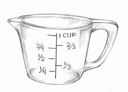 Measuring Cup Cups Clipart Glass Clip Ingredients