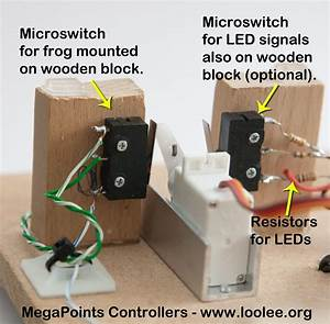 Micro Switch Powering Frog