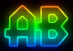 Rainbow Neon Text Effect Creator