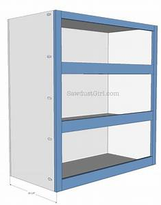 Pull-out Storage Cabinet - Sawdust Girl®