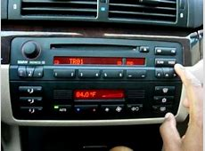 Sirius, MP3 Playback and Bluetooth on BMW Business CD53
