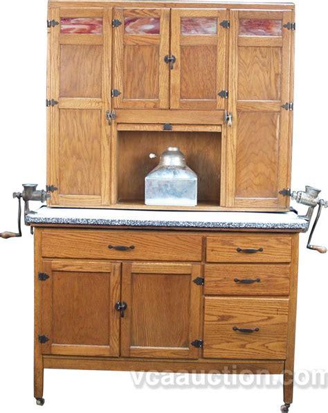 vintage hoosier kitchen cabinets vintage oak hoosier cabinet 6810