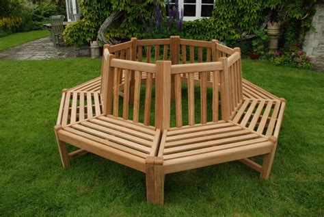 Can A Tree Bench Fit Around My Tree?  Quality Teak Tree