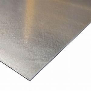 Tole Aluminium 2mm : t le electrozingu e bricofer ~ Nature-et-papiers.com Idées de Décoration