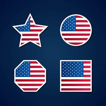Flag Usa Symbols Vector Element Veterans Vecteezy