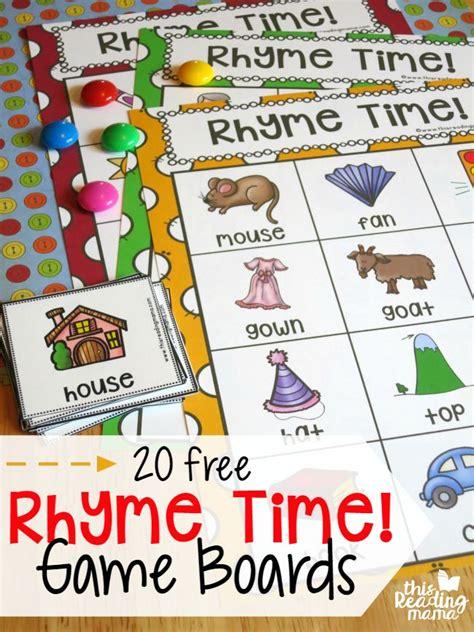best 25 rhyming activities ideas on rhyming 692 | bc532963ac02038070154c2c003ad0c2 literacy games for kindergarten rhyming bingo