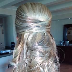 Las Vegas Wedding Hair Half Up Half Down By Amelia C