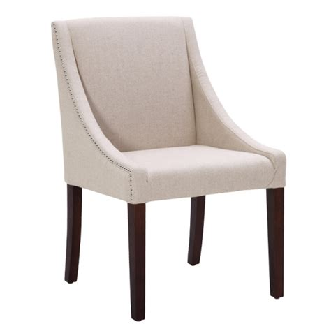 lucille fabric dining chair buy fabric chairs dining