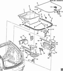 Cadillac Srx Slide  Convenience  Rear Quarter Trim