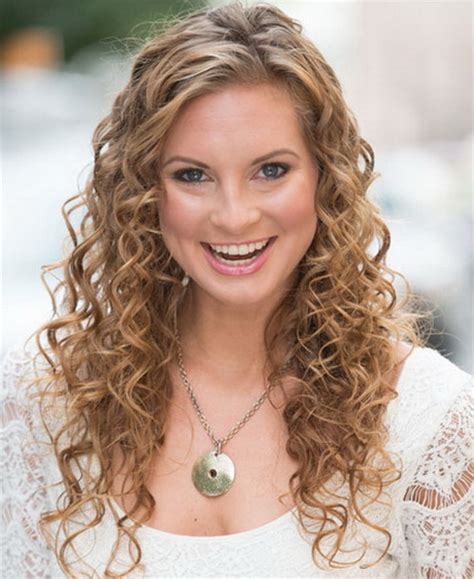 cute curly hairstyles for school