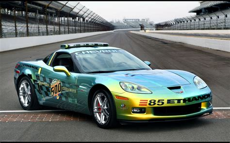 Indy 500 Corvette by Chevrolet Corvette Indy 500 Pace Cars 2008 Widescreen