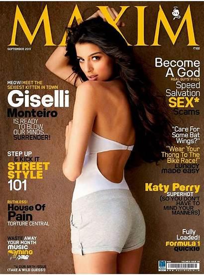 Maxim India Monteiro Magazine Giselli Giselle September