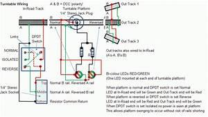 Peco N Gauge Turntable Wiring Help